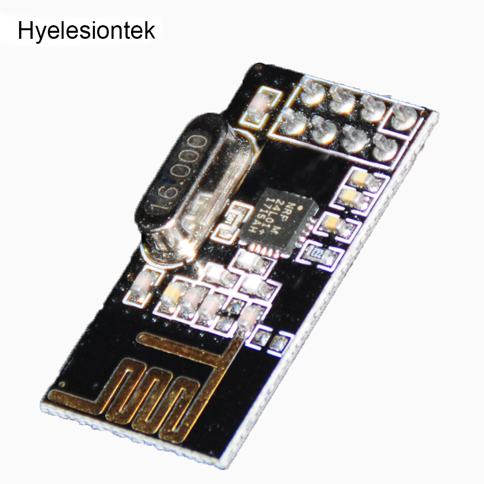 2 stücke NRF24L01 2,4 GHz Für Arduino DIY Kit Eletronic Drahtlose RF Transceiver NRF24L01 Antenne 8-pin Mikrosteuer Wifi modul Bord