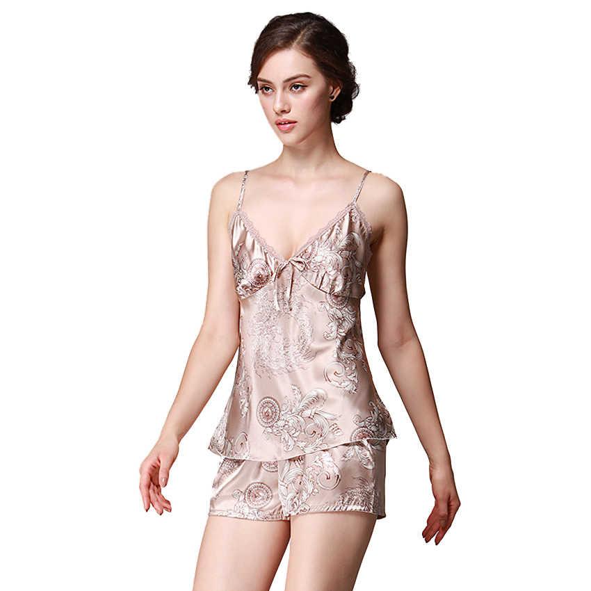 חדש Femme סקסי פיג 'מה גבירותיי Pigiama נחם חגורת אפוד פיג' מה חליפה