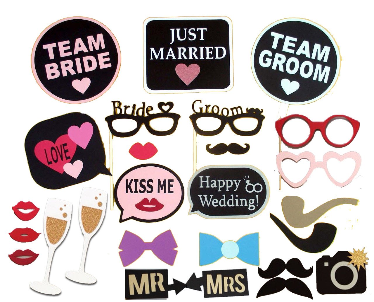 Aliexpress.com : Buy 26PCS Hen Party Photo Booth Props Kit