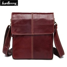 retro Men Tote Casual Briefcase Business Shoulder thread Leather male Messenger Bags iphone ipad Handbag Mens Bag Flap Pocket cheap Briefcases Genuine Leather COTTON Single baerrilly Interior Key Chain Holder Interior Slot Pocket Cell Phone Pocket 22cm