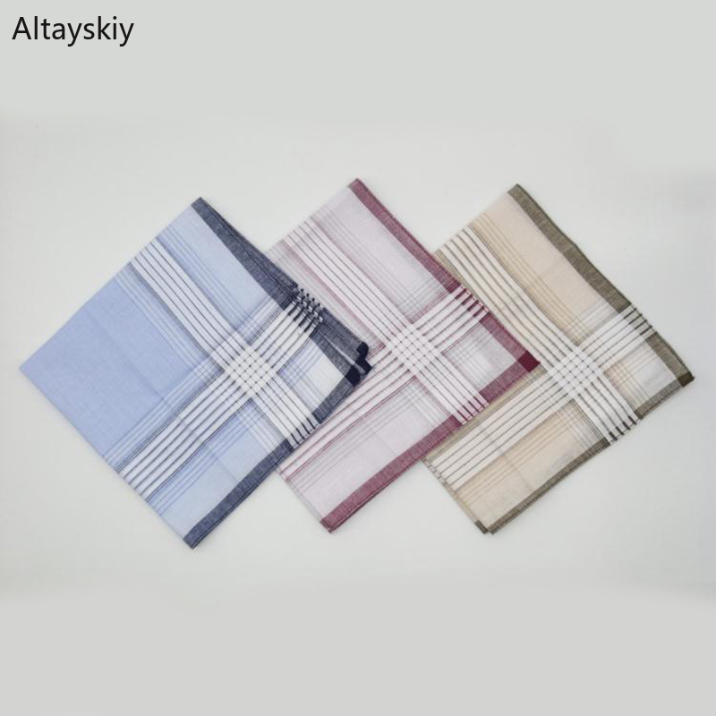 Handkerchiefs Women Classic Printed Simple 2020 New Womens Handkerchief All-match Thin Soft Leisure Trendy Elegant Cotton Chic