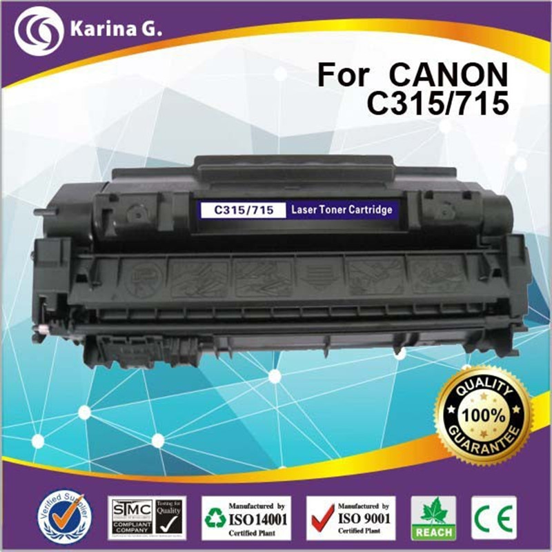 laser toner cartridge for CRG315 CRG715 3000PAGE YIELD for HP LaserJet P2014 P2015 M2727 Series for Canon LBP-3310 LBP-3370
