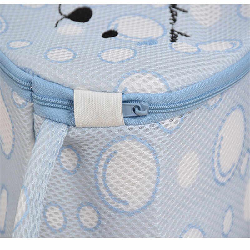 Lavanderia & Mesh & Organizador Saco de Lavagem de Lavagem Sacos De Viagem Bra saco de roupas Íntimas Lavanderia Malha Wash Basket Net Lavagem De Armazenamento Com Zíper saco