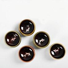 Кунг-фу чайная чашка керамическая чайная чашка маленькая чашка с карпом