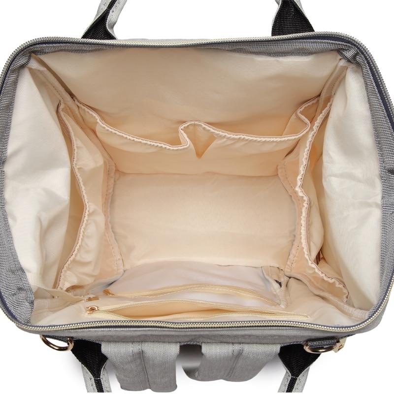 HTB1fYrGs1uSBuNjSsziq6zq8pXaG Fashion Mummy Striped Maternity Nappy Bag Large Capacity Baby Bag Bolsa Maternidade Designer Nursing Bag For Mother Baby Diaper