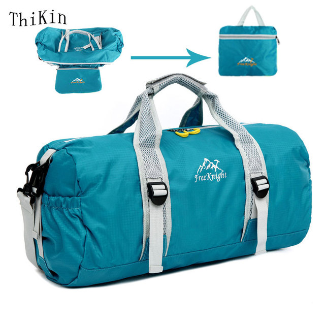 Women Waterproof Nylon Large Capacity Ultralight Foldable Bag Travel Duffle  Bags Rolling Travel Bag 4ed248197009a