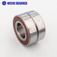 1 Pair MOCHU 7005 H7005C 2RZ P4 DT A 25x47x12 25x47x24 Sealed Angular Contact Bearings Speed