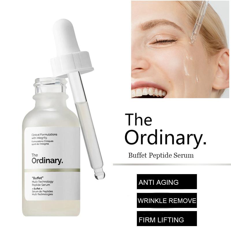 The Ordinary Buffet Multi-Technology Peptide Serum 30ml Target Anti Aging Face Serum Firming Anti Wrinkle