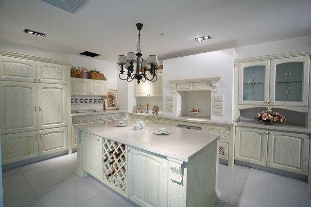 Frêne blanc bois cuisine pour La Russie dans Armoires de cuisine de ...