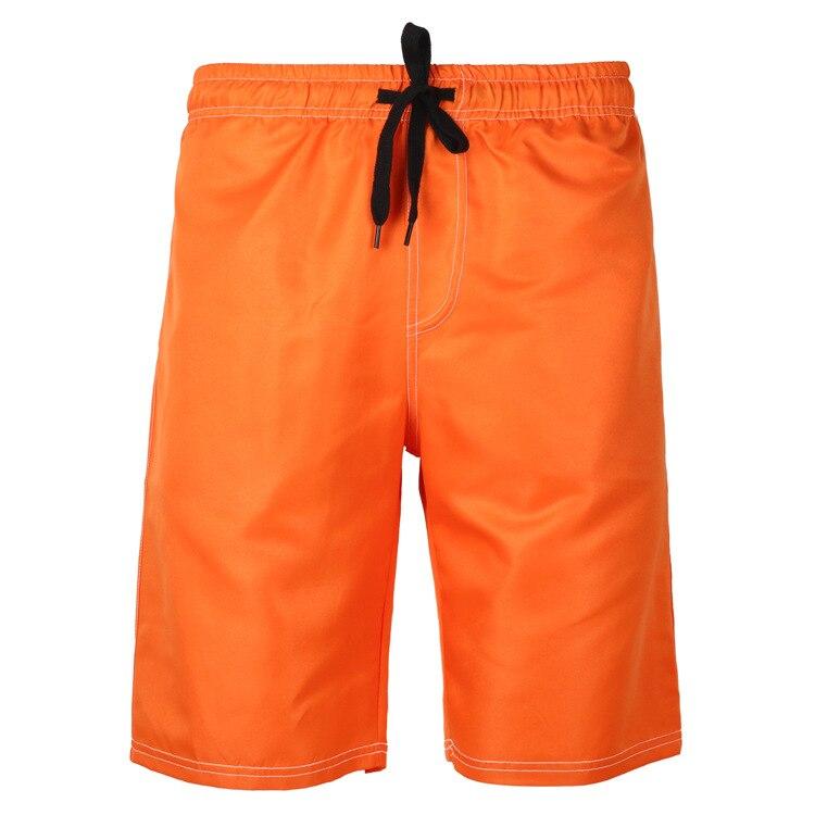 MRMT 2020 Brand Men's Beach Shorts Solid Color Boxer Pants Short Pants For Male Five Breechcloth