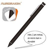 1,4mm metal nib tablet Pen stylus schlank für zeichnung für tablet android ios für ipad2 für apple xiaomi huawei keine notwendigkeit bluetooth