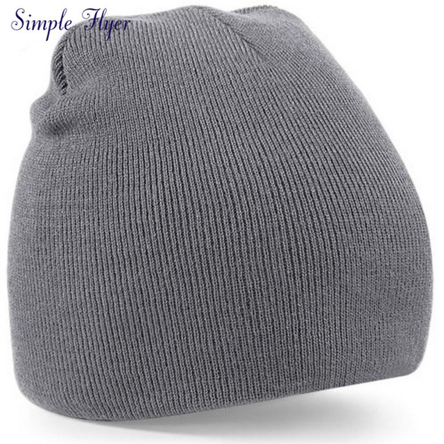 a98a2e155 SIF Knitted Beanie Hat Mens Ladies Unisex Wooly Winter Warm Skiing Skull  Cap AGU 15 Hot Dropship-in Skullies & Beanies from Men's Clothing & ...