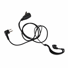 2Pin G Shape Earpiece New PTT Walkie Talkie Headset For Motorola Radio GP88S /GP300/GP68/GP2000/GP88/GP3188/CP040/CP1200
