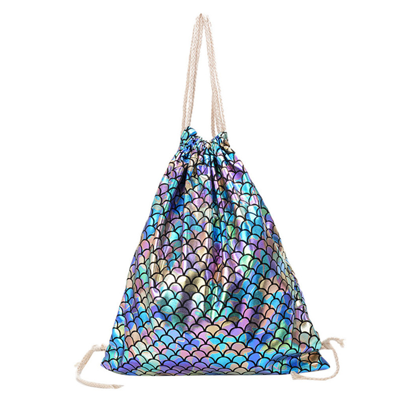 Warm Color Water Color Circles Drawstring Backpack Sports Athletic Gym Cinch Sack String Storage Bags for Hiking Travel Beach