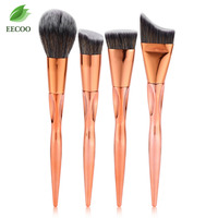 4PCS Professional Makeup Brushes Set Cosmetic Brush Foundation Powder Brush Cosmetic Tool Hot Sales