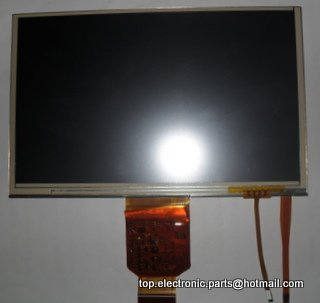 Original 7 ''lms700kf06 lms700kf06-003 panel de visualización de la pantalla lcd con la pantalla táctil digitalizador lente envío gratis