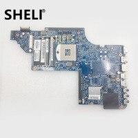 SHELI FOR HP 665990 001 Pavilion DV7 DV7 6000 Laptop Motherboard HM65 DDR3 HD6770M Video card