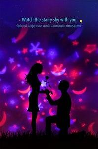 Image 5 - Projektor Nachtlicht Sterne Drehen Projektor Bringen Ihre Eigenen Musik box Sechs Sätze Projektion Film kinder Nachtlicht Geburtstag