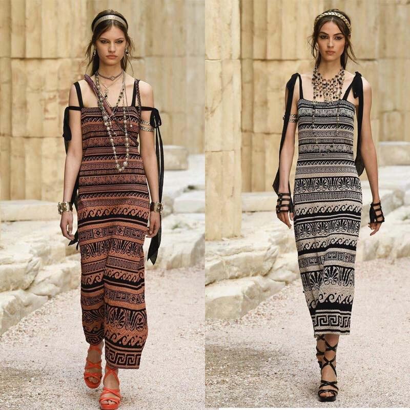 Haute Mode Robes Oodji Streer Femme Wimen 2018 Robe Bandsge Longue D'été Pour Bretelles Sexy Famale SqwZyIy1x7