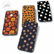 For Huawei P20 lite Case Pumpkin Bat Halloween for Cases NOVA 3 3i Pro P8 P9 P10 P Smart