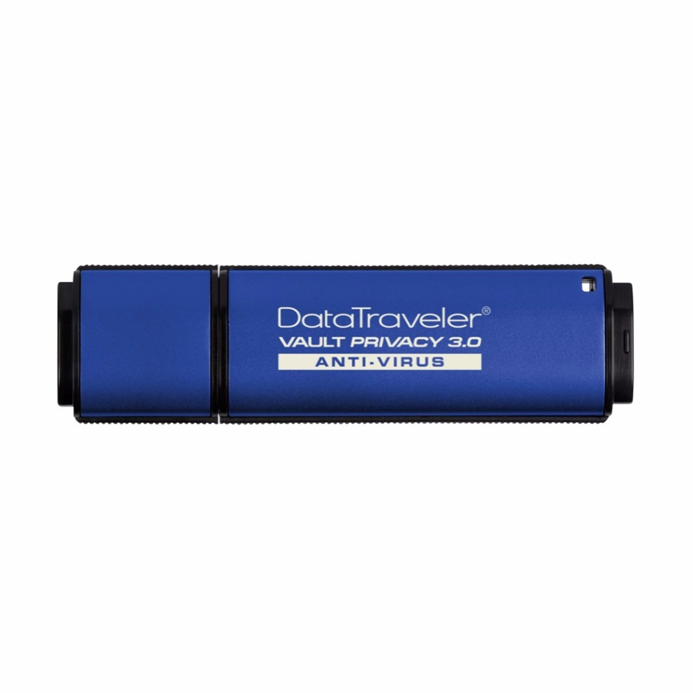 Kingston Technology DataTraveler Vault Privacy 3.0 Anti-Virus 16GB, 16 GB, 3.0 (3.1 Gen 1), Conector USB Tipo A, 165 MB/s, Tapa, image