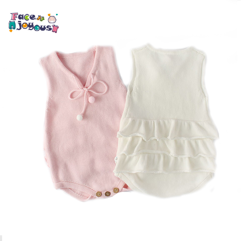 Knit Baby Clothes Newborn Baby Knitted Romper Woolen