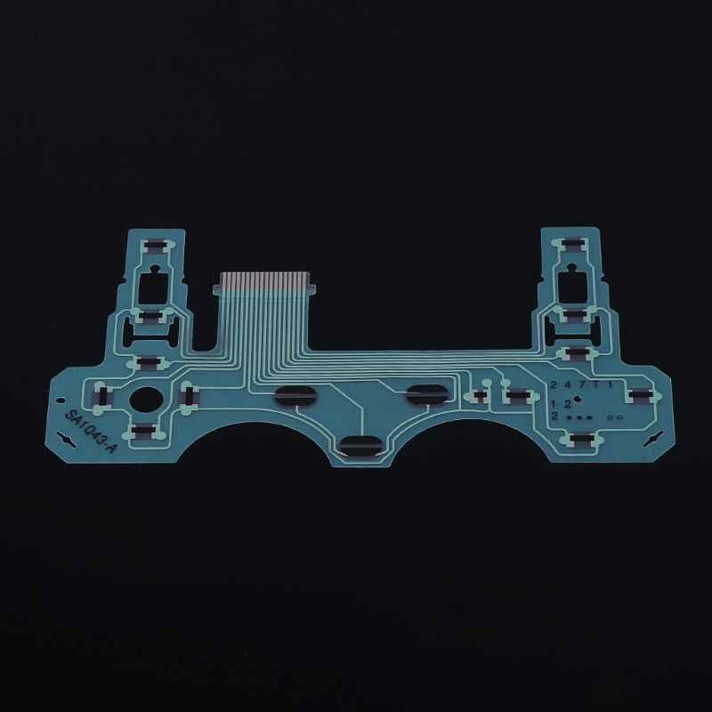 SA1Q43-A แผงวงจร PCB Conductive Film ปุ่มกด Flex สายริบบิ้นสำหรับ PS2 H คอนโทรลเลอร์ Sony Playstation 2 อุปกรณ์เสริม