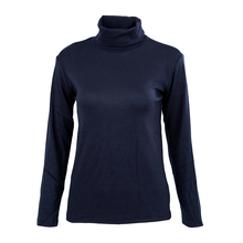 Turtleneck Sweater Shirt Solid Pattern Pullover 7-COLORS