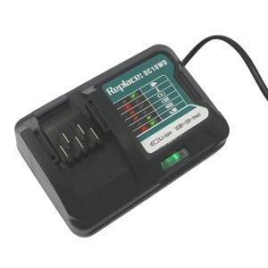 Image 5 - DC10WD ładowarka wymienić dla MAKITA akumulator 10.8 V 12 V BL1016 BL1040B BL1015B BL1020B BL10DC10SA CL107FDWY CL107DWM AC100 260V
