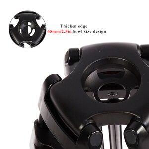 Image 3 - حامل ثلاثي للفيديو محمول احترافي من الألومنيوم من miliboo مع رأس هيدروليكي كاميرا رقمية DSLR حامل ثلاثي القوائم أفضل من manfrotto