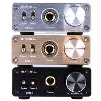 SMSL SAP II Portable Headphone Amplifier TPA6120A2 Big Power HiFi Fidelity Stereo Headphone Amplifier With 2