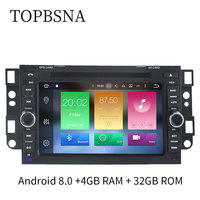 TOPBSNA Car DVD For Chevrolet Aveo Epica Captiva 2004 2011 32G ROM Radio GPS Navigation Steering Wheel Control WIFI