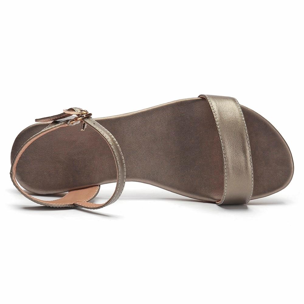 MORAZORA Plus size 34 46 New genuine leather sandals women shoes fashion flat sandals cow leather MORAZORA Plus size 34-46 New genuine leather sandals women shoes fashion flat sandals cow leather summer rhinestone ladies shoes