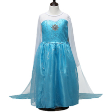Summer Girl Dress Lace Sequins Princess Clothes Halloween Christmas Party Role-play Costume