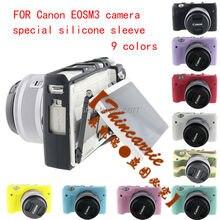Мягкая силиконовая резина Камера защитный Средства ухода за кожей кожного покрова чехол для Canon EOS M6 M6 Камера силиконовые рукава