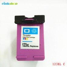 einkshop 123 Color Compatible Ink Cartridge Replacement For HP 123 xl 123xl Deskjet 1110 2130 2132 2133 2134 3630 3632 3638 4520