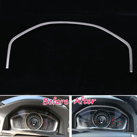 Instrument Panel Decal Cover Trim Dashboard Frame Fit For Volvo XC60 S60L S80L V60 2013 16