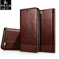 Luxury Magnetic Wallet Case For Apple IPhone 6 6S 6 6S Plus Flip Cover PU Leather