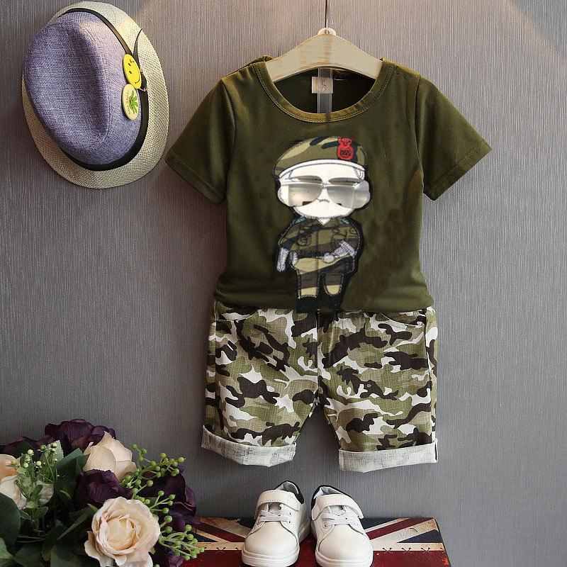 Летни детски дрехи за момчета Деца - Детско облекло - Снимка 2
