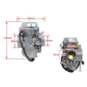Image 2 - ZSDTRP PD34J Carburetor For Polaris Sportsman 700 4x4 MV7 HAWKEYE 300 400 SCRAMBLER 400 500 BIG BOSS 500 ATV QUAD CARB