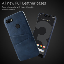 купить Retro Case for Google Pixel 3 XL 4 XL PU Leather PC Anti-Scratch Protective Cover for Google Pixel 2 2 XL 3A 3A XL Case Card дешево