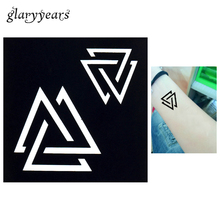 1 PC Women Makeup Body Henna Tattoo Stencil Art Painting Geometric Pattern Design Hollow DIY Glitter Tattoo Template Sticker G78