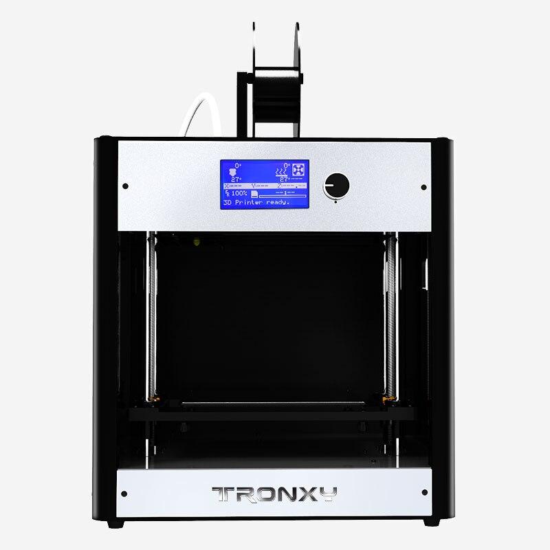 Tronxy 2019 nouveau C5 assemblé bureau imprimante 3D cadre en aluminium haute précision complet Machine Support carte TF