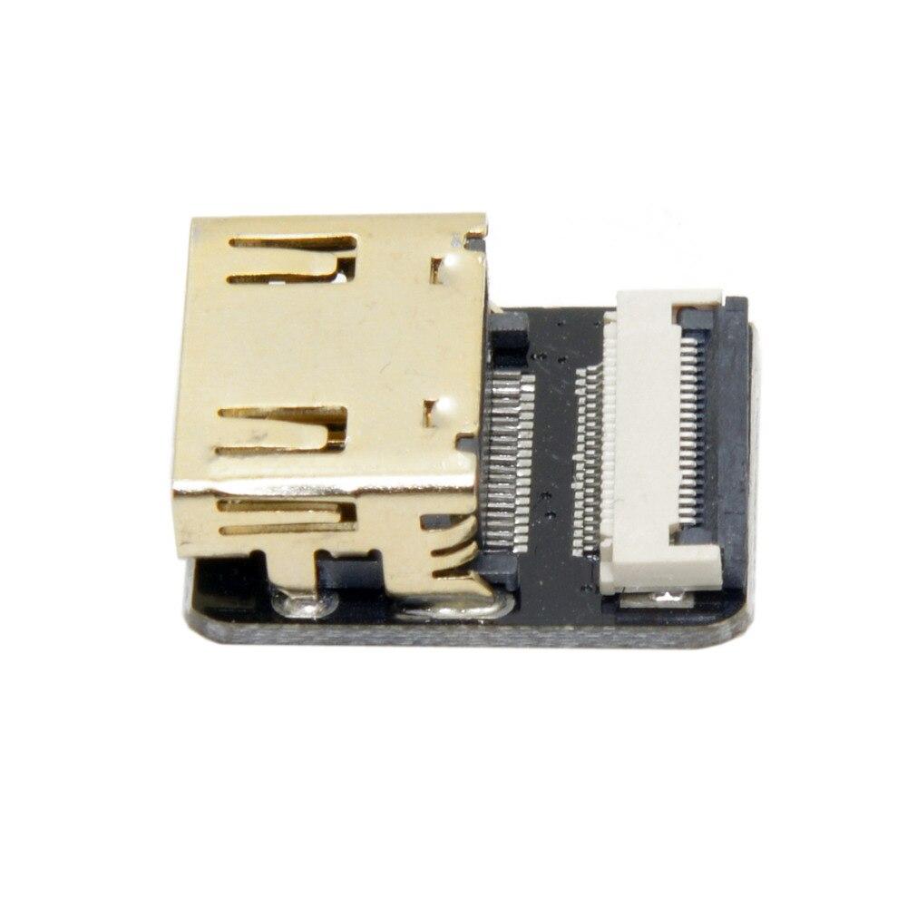 10 pcs/lot Cablecc CYFPV HDMI Type A connecteur femelle prise pour FPV HDTV Multicopter photographie aérienne