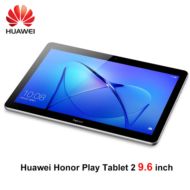 Huawei Honor Play Tablet 2 9.6 дюймов Snapdragon 425 3G Оперативная память 32 г ROM Andriod 7 8MP 4800 мАч IPS планшетный ПК Honor T2 Wi-Fi