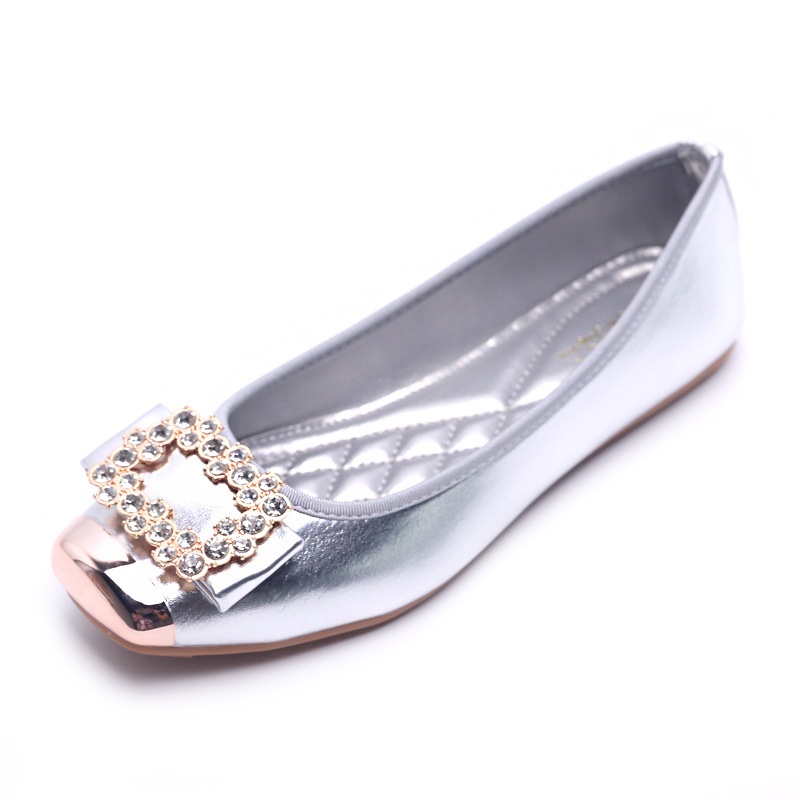 c15019d1b60 Spring and Autumn Ballet Flats Women Elegant Brand Shoes Diamond Design  Women s Flats Luxury Plus Size 35 42 Free Shipping-in Women s Flats from  Shoes on ...