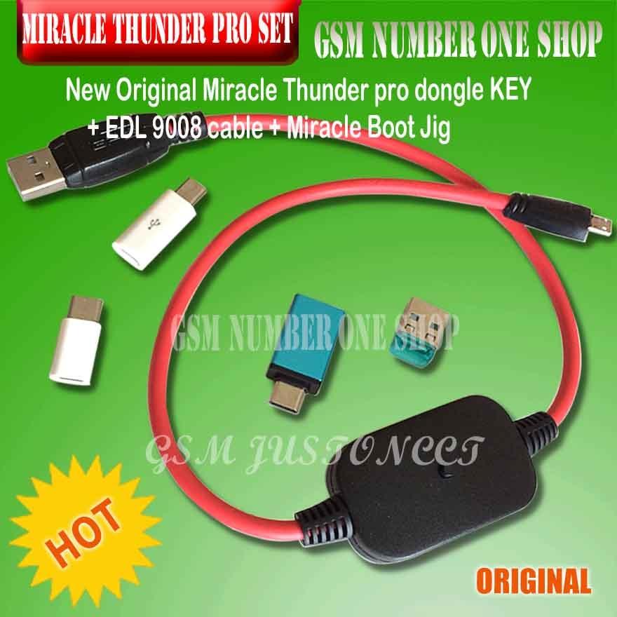 miraclekey / miracle thunder dongle / miracle tool thunder dongle instead of miracle box and key