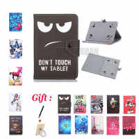 Universal Cover for Prestigio MultiPad Wize 3131 3G PMT3131_3G_D 10.1 Inch Tablet Printed PU Leather Stand Case (No camera hole)