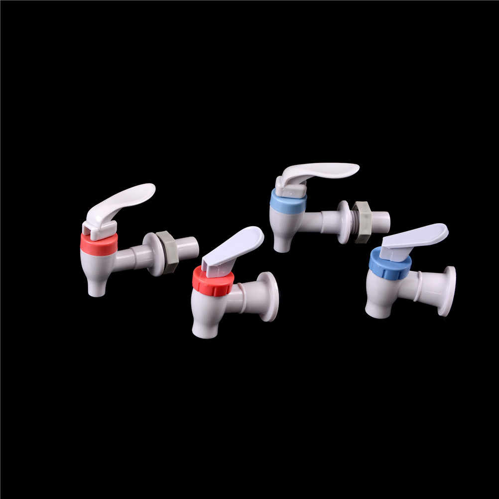 Kitchen Household Plastic Replacement Push Type Mineral Water Dispenser Spigot Valve Faucet Tap Water Faucet Bar Home Drink Tool