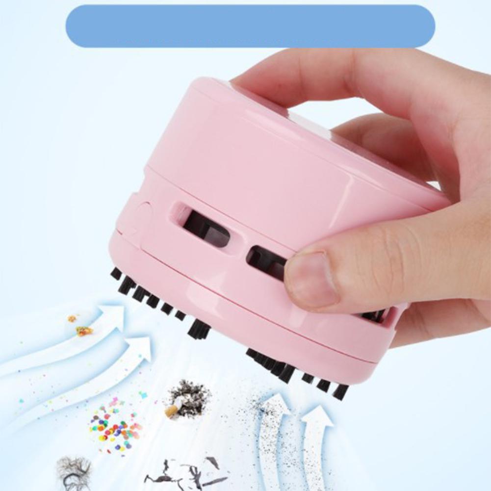 HobbyLane Desktop Mini Vacuum Cleaner Cartoon Home Office Car Vacuum Cleaner Dust Removal D20